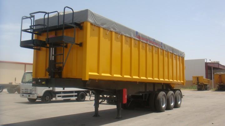 Grain Semi-Trailer 03 Axles – 52 Tons