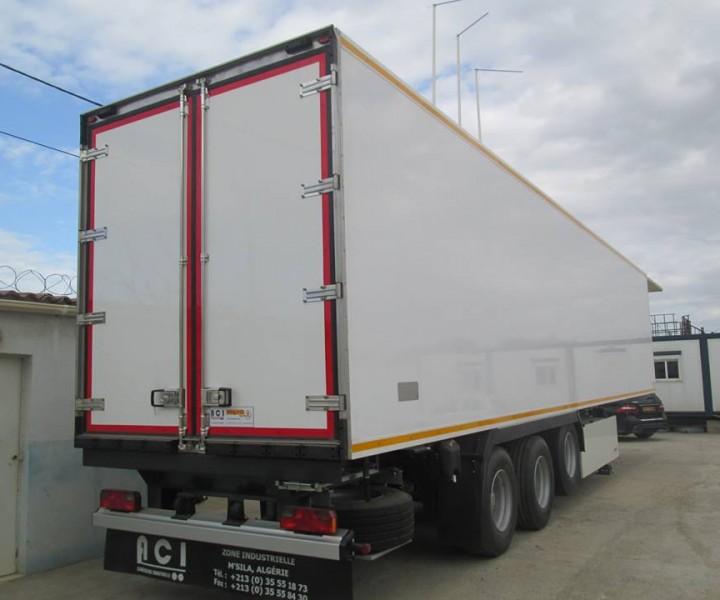 BOX SEMI-TRAILER 36T