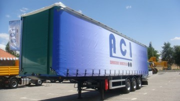 Curtainsiders Semi-Trailer 36 T