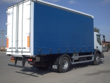 Semi Trailer with Canvas