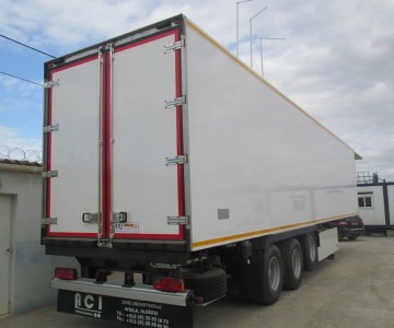 BOX SEMI-TRAILER 36T